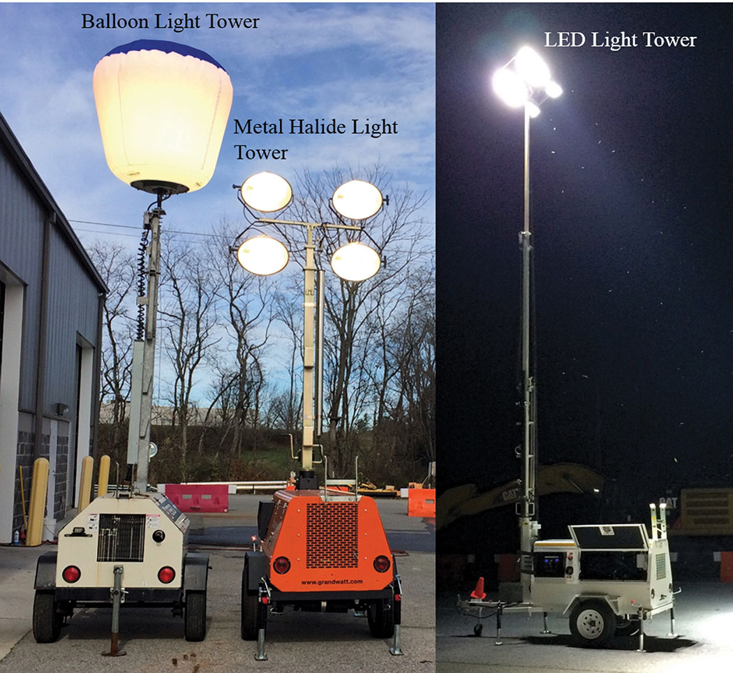 LED light tower